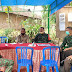 Cek Posko PPKM Mikro, Danposramil Tipe B 0804/07 Karangrejo Beserta Forkopimca Kecamatan Karas Apresiasi Kelengkapan Sarpras