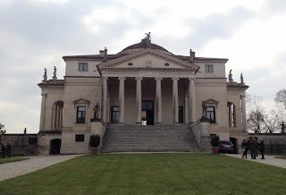 La Rotonda, near Vicenza, is one of  Palladio's most famous buildings