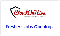 CloudOnHire-freshers-recruitment