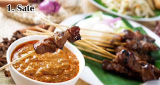 Sate merupakan salah satu ide menu olahan dari daging kurban khas orang Indonesia