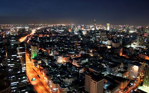 Destinasi pelancongan menarik di Asia - Bangkok Thailand