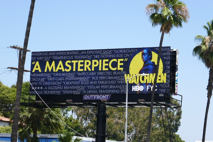 Watchmen Emmy FYC billboard