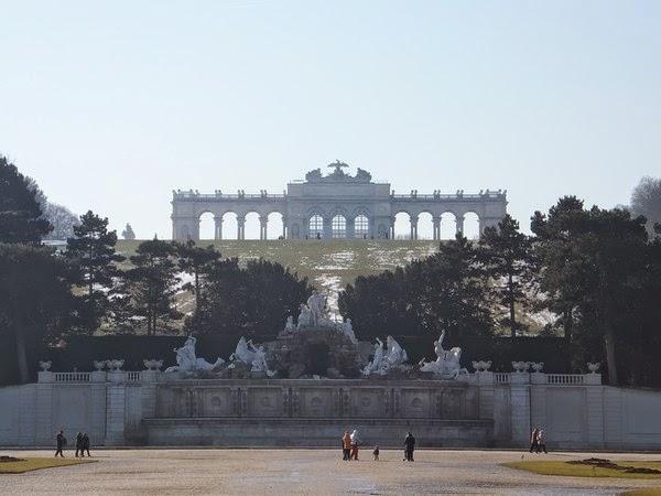 Vienne Wien Schönnbrunn château Habsbourg gloriette
