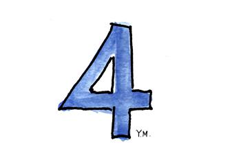 number 4 by Yukié Matsushita