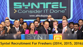 Syntel Careers