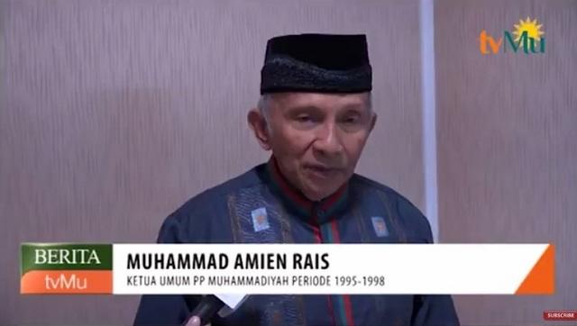 Keras! Ini Tanggapan Amien Rais Atas Pembacokan Hermansyah dan Intimidasi Tokoh Aksi Bela Islam