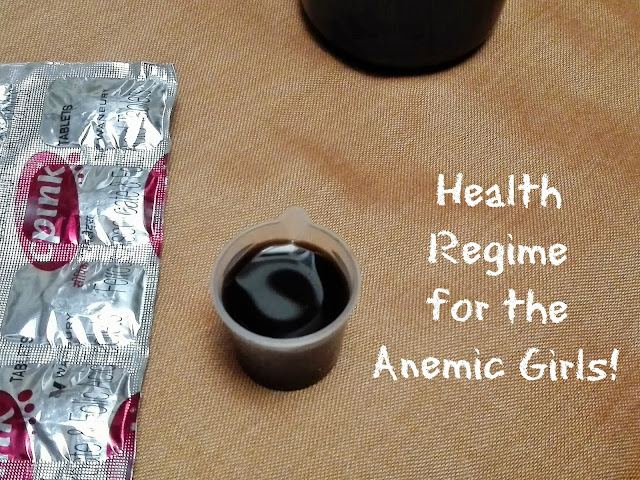 Health routine regime for anemic girls low blood count haemoglobin