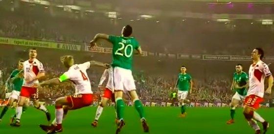 الدنمارك إلى كأس العالم بخماسية فى مرمى إيرلندا