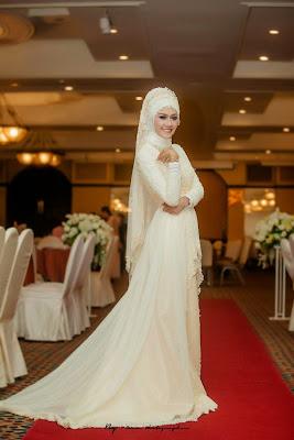 Gaun Pengantin Muslim Pernikahan Terbaru 2015