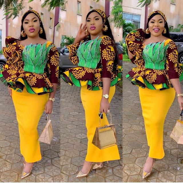 The 20 Best of Owambe Aso Ebi Dresses 35