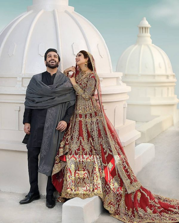 Kinza Hashmi and Azfar Rehman Beautiful Photo Shoot
