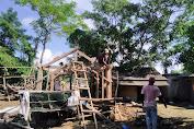 Setelah dibayar, Pemilik Lahan Enclave Lingkar Sirkuit Mandalika Bongkar Bangunan Sendiri