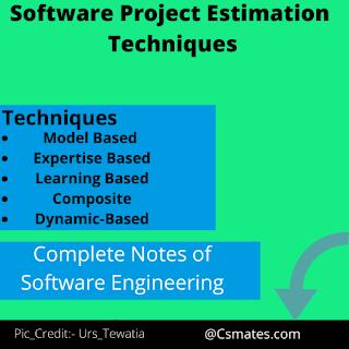 software project estimation techniques