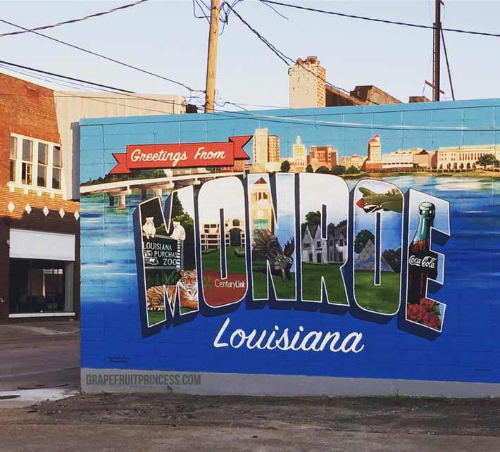 Mural Monroe Louisiana