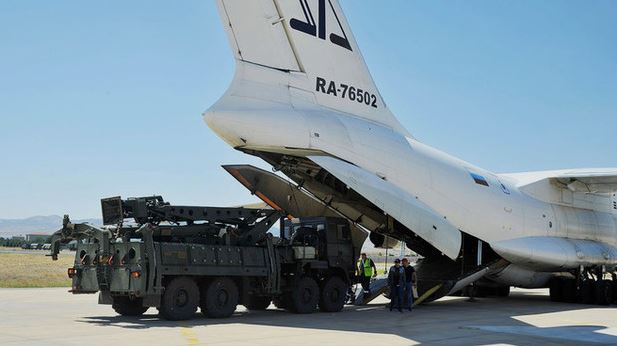 New supplies: Turkey received a second S-400 battery