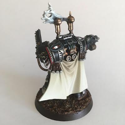 Dark Angels Praetor in Cataphractii armour