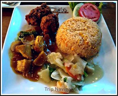 Fried Rice and Chicken, Nanna Biriyani, Old Dhaka Food, Trip Navigation Bangladesh