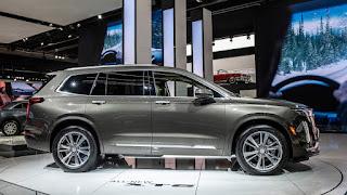 2020 Cadillac XT6 SUV side