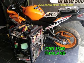 Cara pasang alarm motor CBR 150R THAILAND