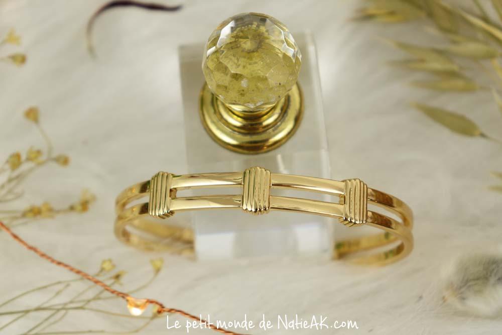 Box L'Atelier Emma & Chloé Mai 2021 bracelet jonc