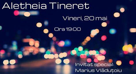 Marius Vlăduțoiu la Aletheia Timisoara - 20 mai 2016