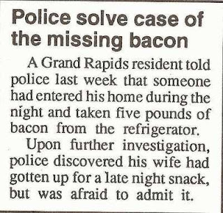 police solve case of greedy wife eating midnight snack