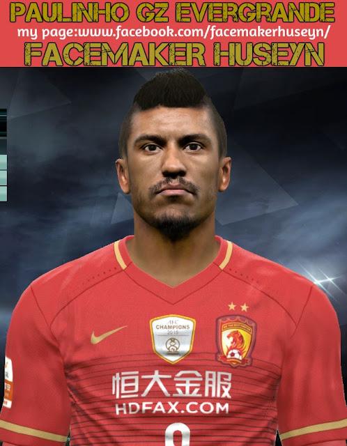 PES 2017 Paulinho Face 2019 By Facemaker Huseyn