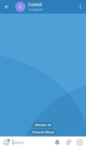 Contoh Channel Telegram
