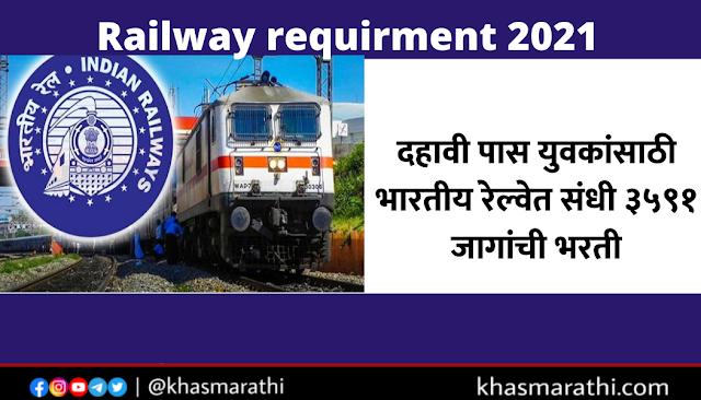 railway requirment 2021