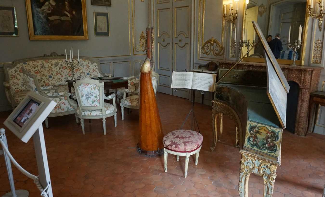 Music room Hotel de Caumont