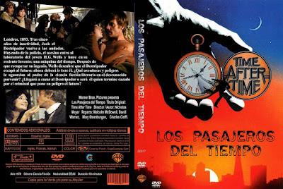 Carátula dvd: Los pasajeros del tiempo