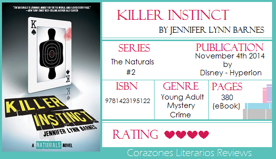 BookReview: Killer Instincs by Jennifer Lynn Barnes