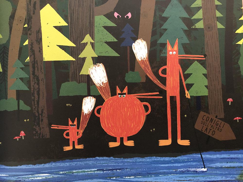 le volpi e il bosco