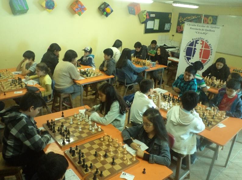 Circuito Escolar De Ajedrez Provincia De Quillota Exitoso