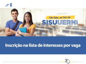 UERN: Candidatos devem se inscrever em lista de interesse por vaga em terceira chamada do SiSU