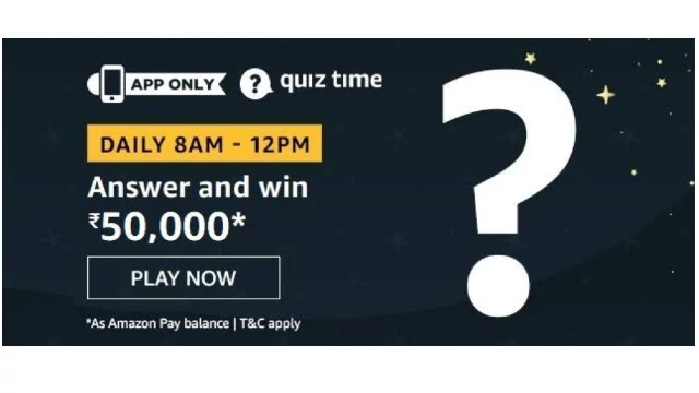 Amazon-Quiz-Answers-For-Today-27th-April-2020-Win-Rs.50000-Pay-Balance
