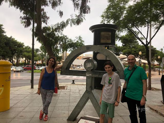 Parque Nicolás Salmerón un Indalo