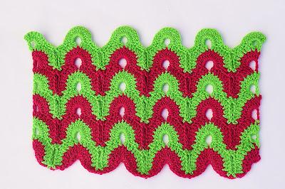 1 - CROCHET IMAGEN Puntada de dos colores a crochet y ganchillo muy fácil y sencillo. Majovel Crochet.