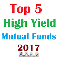 Top 5 High Yield Bond Mutual Funds for 2017