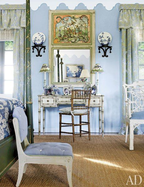 Chinoiserie Chic The Blue And White Chinoiserie Bedroom