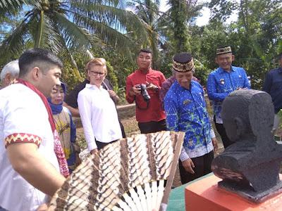 Puluhan Dubes Tinjau Sentra Tapis Lugusari dan Waduk Way Sekampung