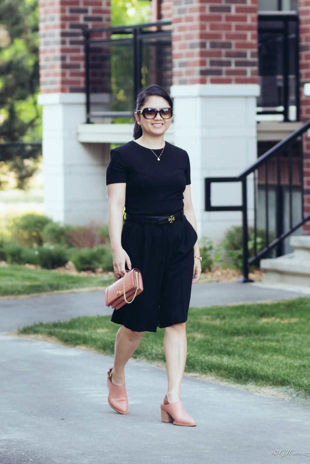 petite spring summer outfit idea