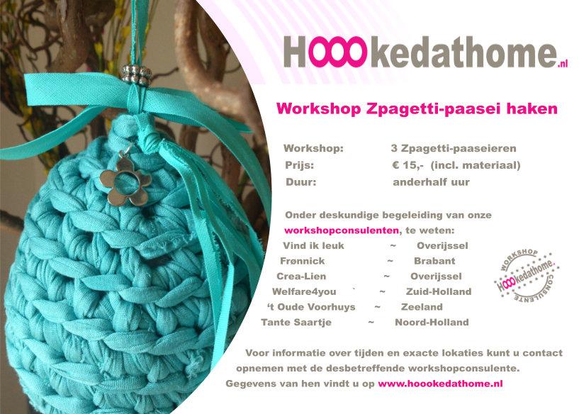 Vind Ik Leuk Workshop Zpagetti Paasei Haken