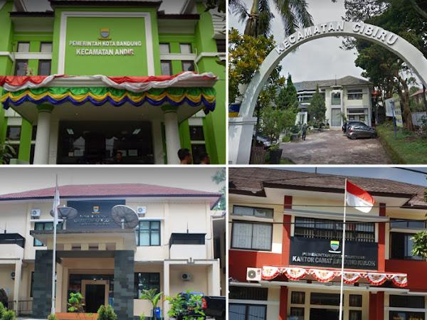 Alamat Kantor Kecamatan di Kota Bandung