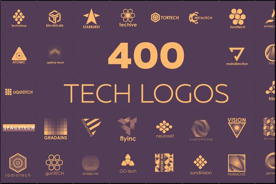 30 Best Tech Business Logos 2019