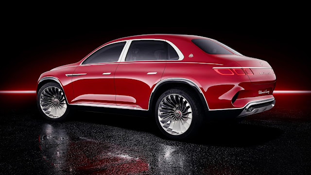 Maybach SUV side