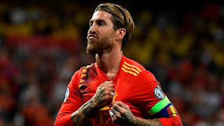 Ramos becomes the defender with the highest goal in International football