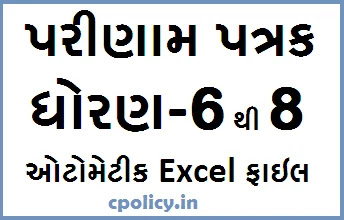Class 6 to 8 Parinam Patrak Download