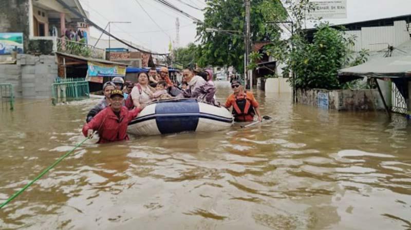 Empat Warga di DKI Jakarta Meninggal Dunia Akibat Banjir