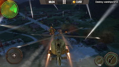 لعبة Gunship War Total Battle للاندرويد, لعبة Gunship War Total Battle مهكرة, لعبة Gunship War Total Battle للاندرويد مهكرة